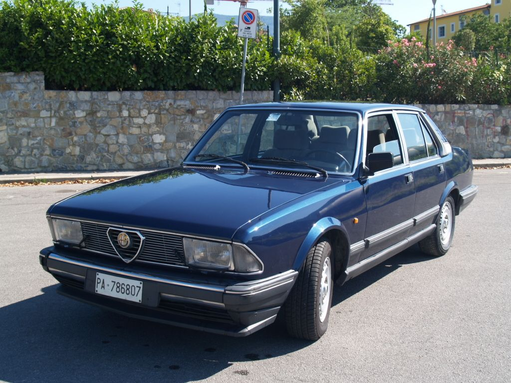 Alfa Romeo Alfa 6 2 5 V6 Serie 2 Only Cars And Cars
